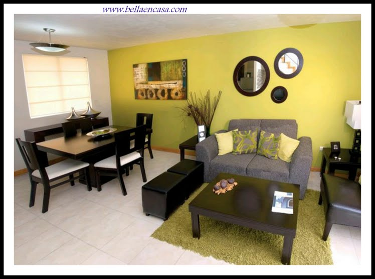 Ideas de decoraci n para casas peque as bella en casa for Salas para casa chica