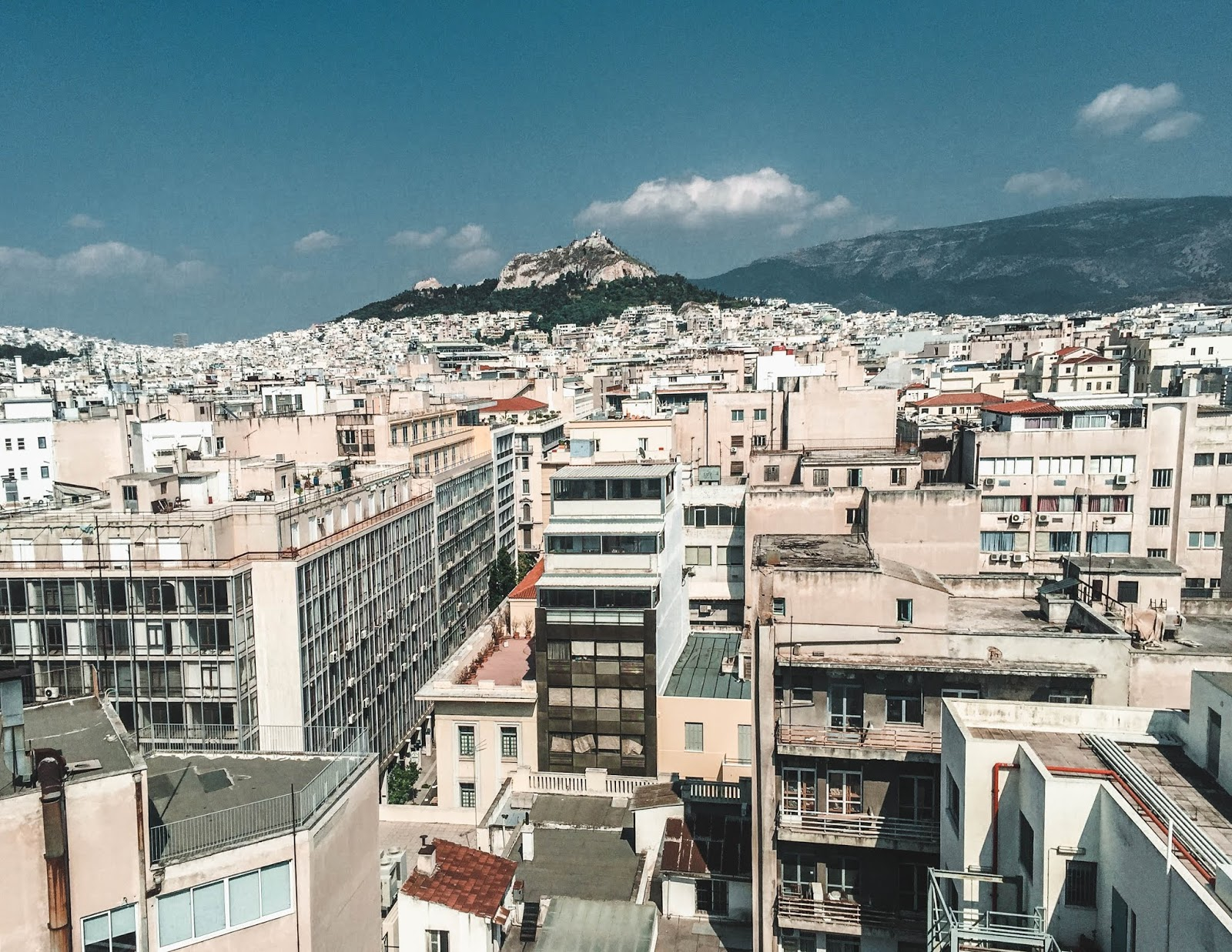 Athens Greece Rooftop Views