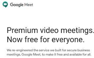 Google Meet अब हो गया है Free जानिए क्या है यह - What is Google Meet