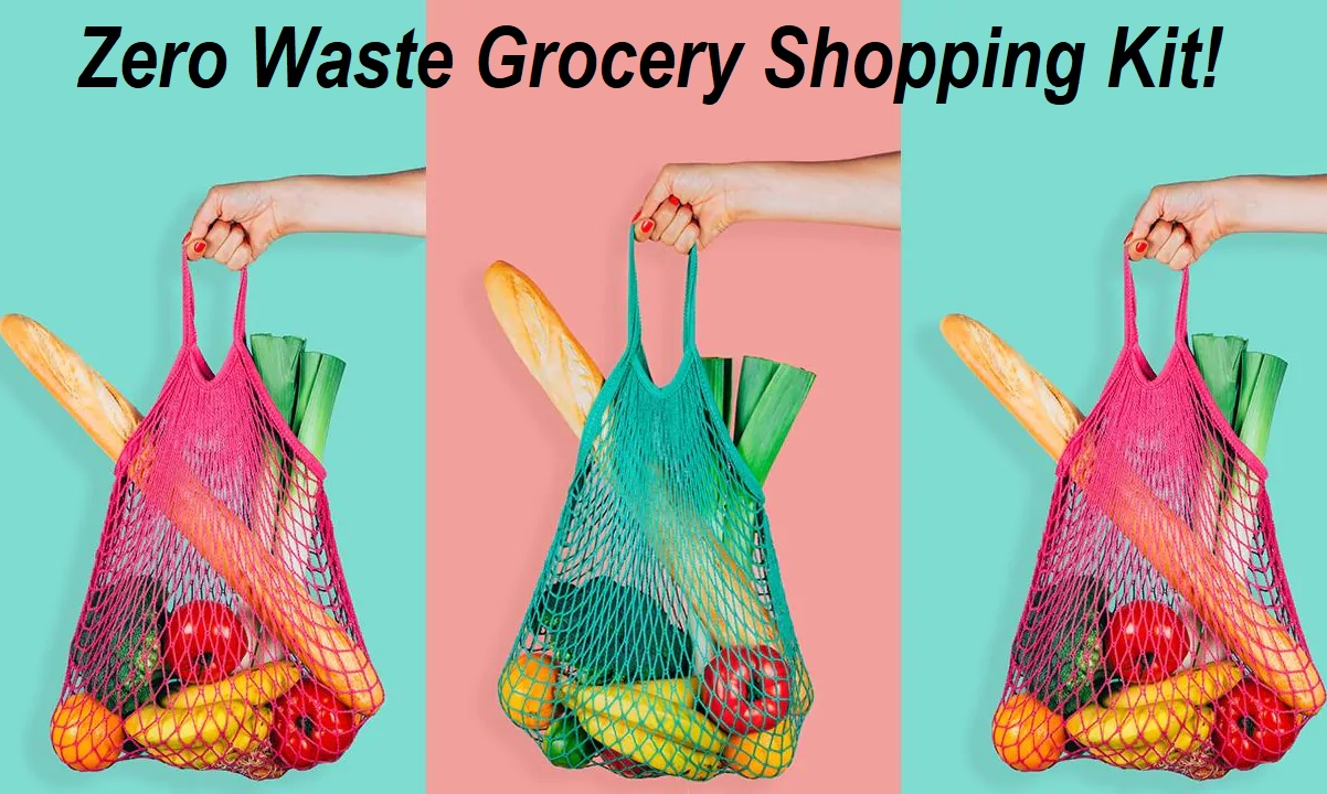 Zero Waste Grocery Shopping Kit