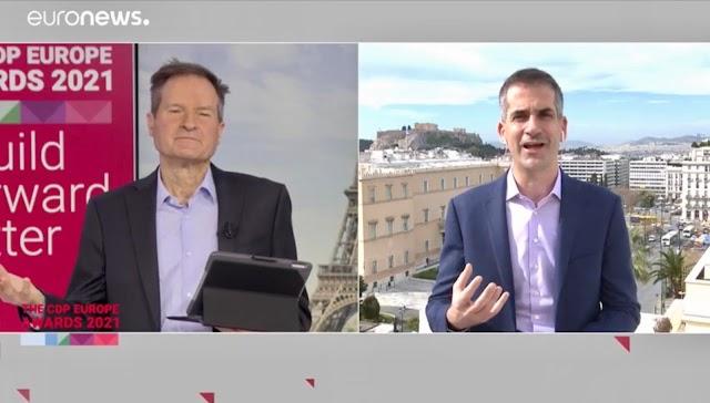 Σημαντική βράβευση του δήμου Αθηναίων από τα CDP Europe Awards για τις δράσεις με στόχο την πράσινη ανάκαμψη