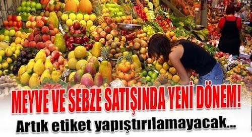Meyve - Sebze Ambalaja Giriyor