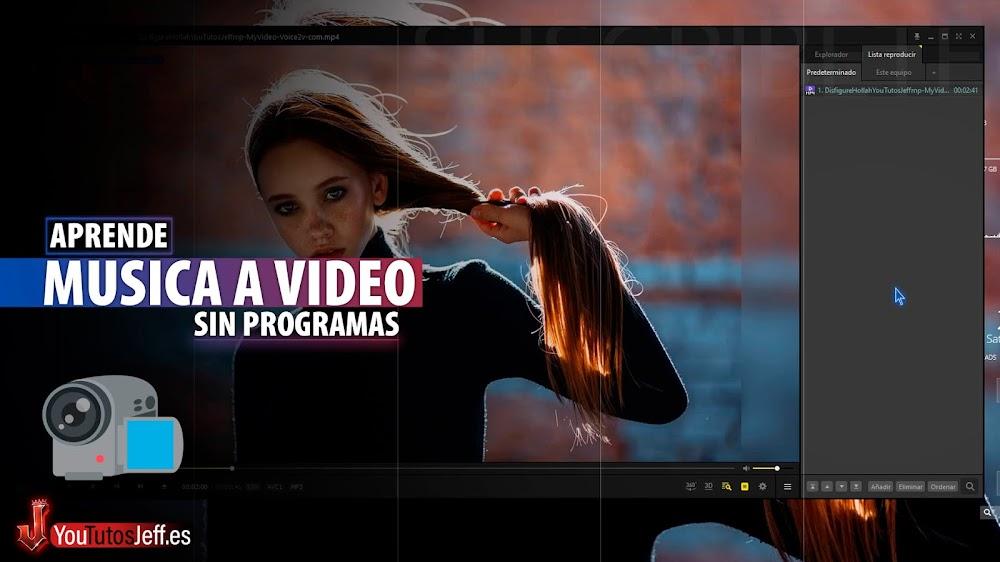 Como Convertir Música en Vídeo Sin Programas