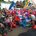 Penghargaan JTV Untuk Desa Pandean, Dalam Shoting Kegiatan Kapung Guyub Rukun