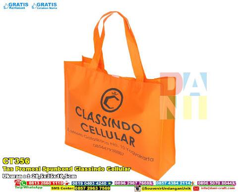 Tas Promosi Spunbond Classindo Cellular