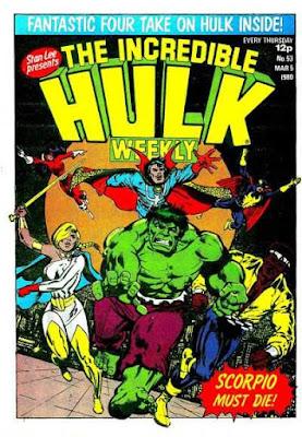 Incredible Hulk Weekly #53, the Defenders