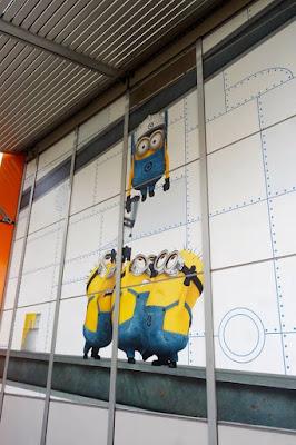 Minions in Minion Plaza at USJ Japan