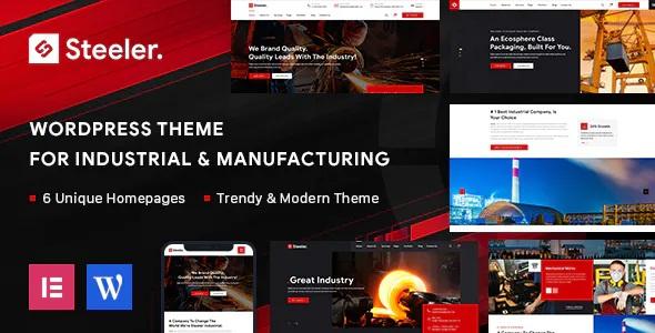 Best Industrial & Manufacturing WordPress Theme
