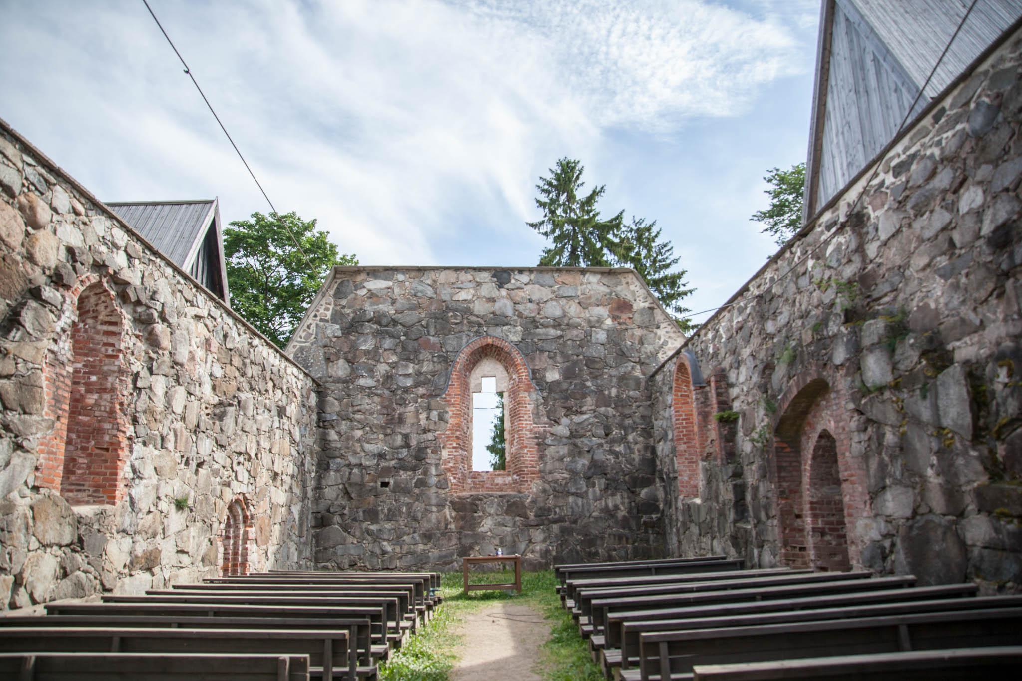 pälkäne kirkko keskiaikainen kivikirkko