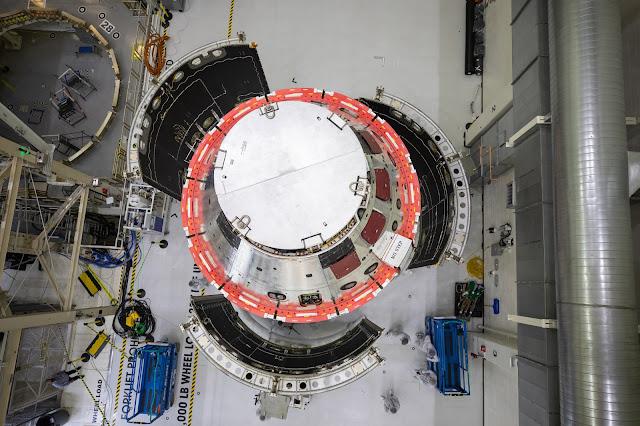 Instalação de flapes de carenagem no navio Orion