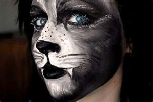 The Bizarre and Weird: Faces Painted as Animals