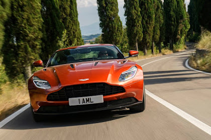 2020 Aston Martin DB11 tops the current month's rundown of limits