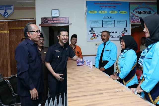 Bupati Emil Dardak Launching Program PATEN di Kecamatan Panggul