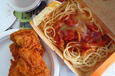 Jolly Spaghetti from Jollibee