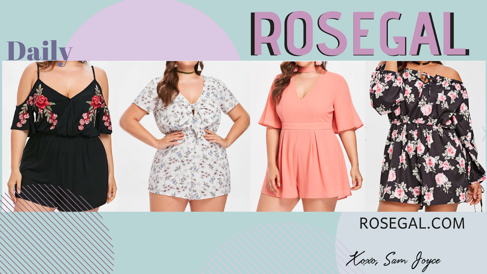 Plus Size fashin | Feel Sexy and pretty with rosegal
