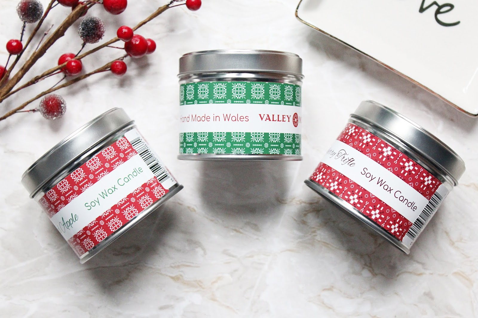 Valley Mill Christmas Candles