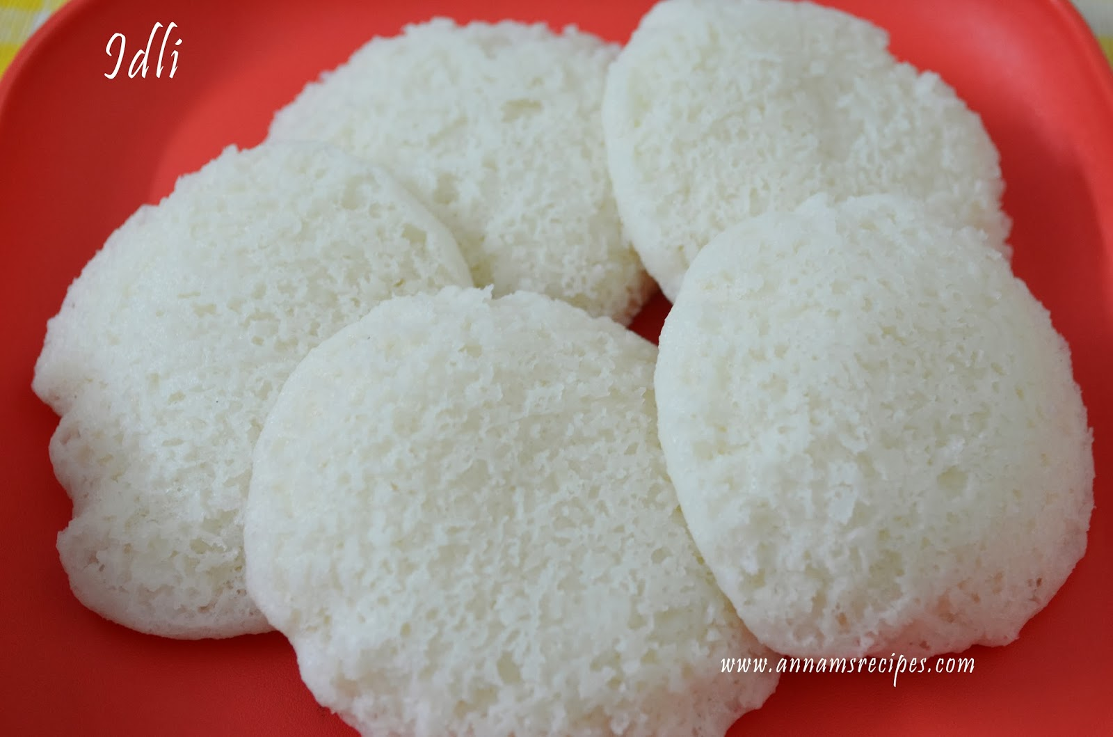 How to Make Soft Idli Batter