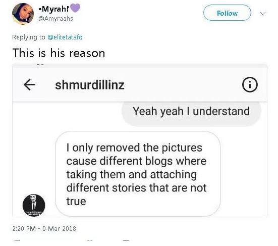 #BBNaija 2018: Nina's boyfriend deletes her pictures Instagram account, gives reason (DETAILS)