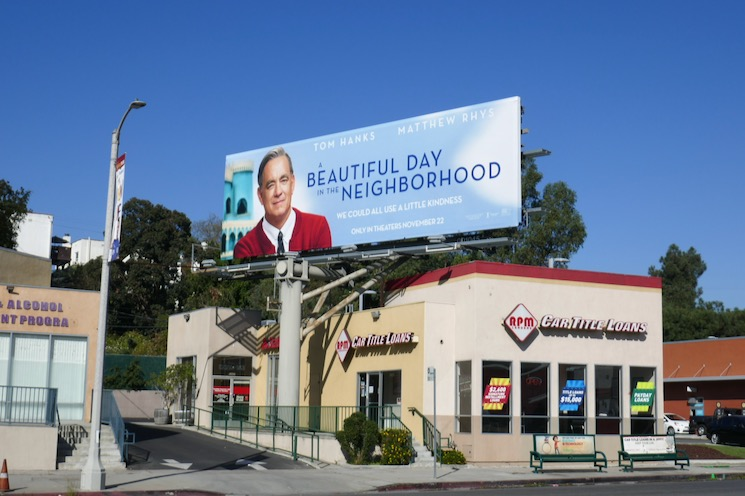 A Beautiful Day in Neighborhood billboard