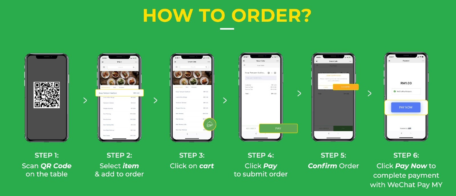 WeChat Pay MY introduces Smart Order for you to order & pay