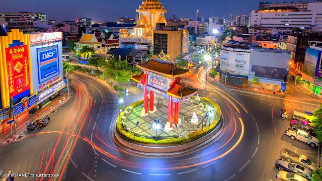 10 Destinasi Wisata  Di Bangkok Yang Wajib Dikunjungi - China Town