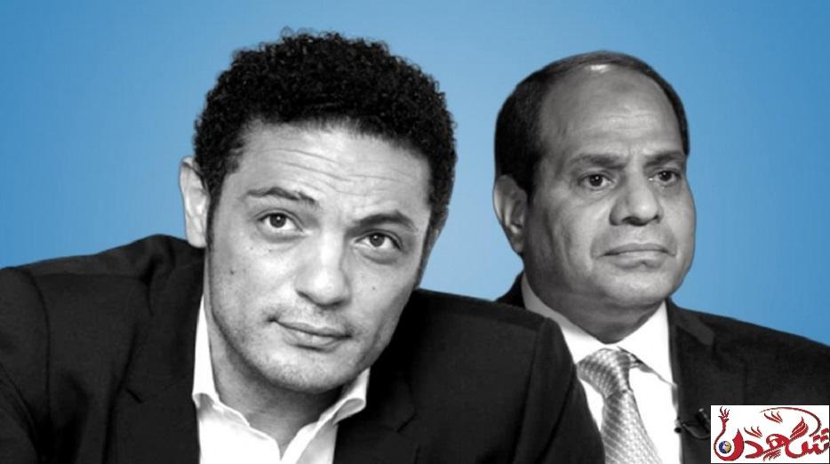 محمد علي مقاول و فنان مصري