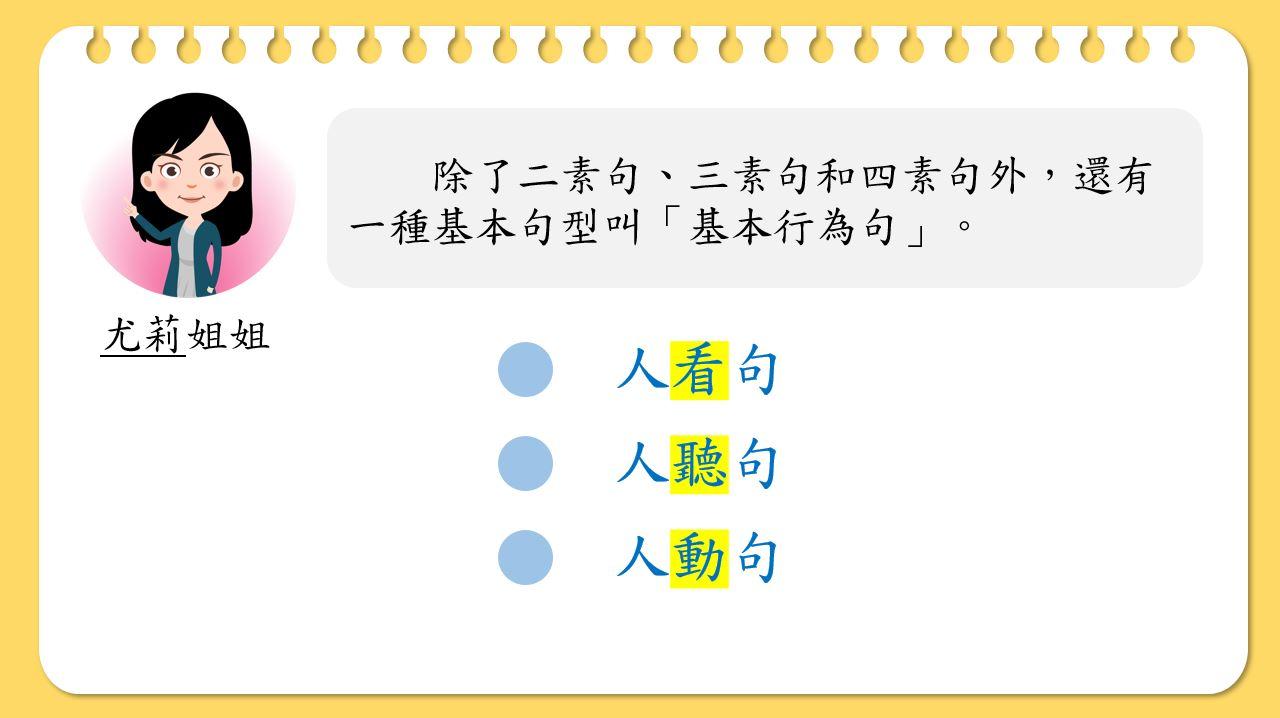小學中文寫作短片系列:基本行為句-人看句、人聽句、人動句|寫作教室|尤莉姐姐的反轉學堂