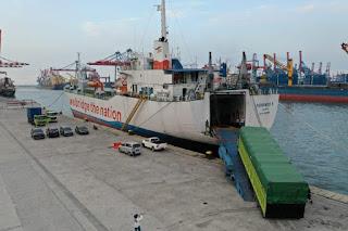 Kapal Penyeberangan ASDP Ferindo 5  Layani Pelabuhan Tanjung Priok - Tanjung Perak