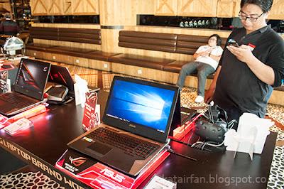 Serunya acara launching ASUS ROG STRIX GL-702 & GL-553 di Exodus Lounge, Jakarta ^_^