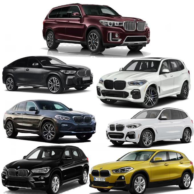 BMW seri X, Sport Activity Vehicle (SAV) Kreasi BMW