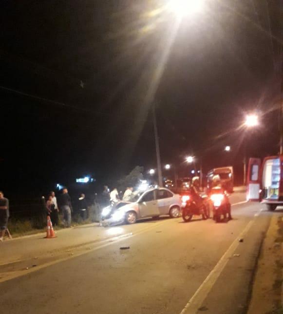 Acidente com vítima fatal em Itajubá-MG, próximo a Imbel. 16