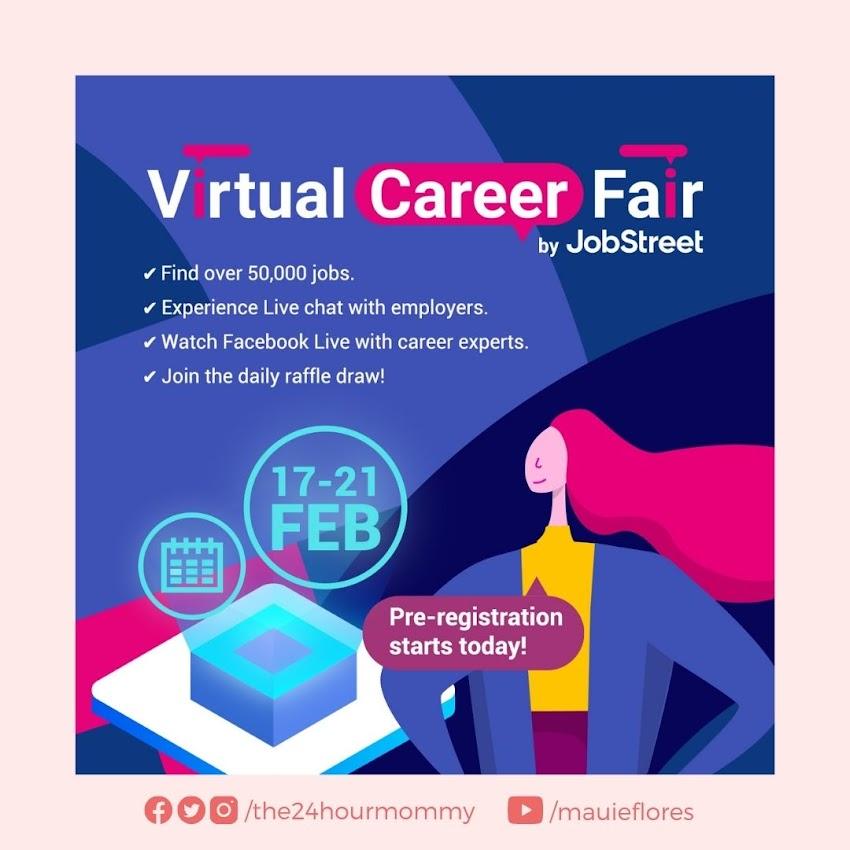 JobStreet Virtual Career Fair 2021 Happens on February 17-21