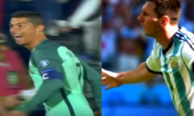 ميسى ورونالدو يحملان آمال الأرجنتين والبرتغال أمام إكوادور وسويسرا