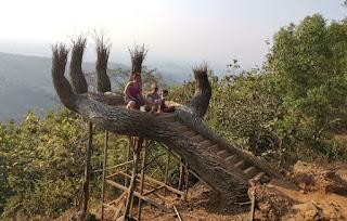 Alrededores de Yogyakarta, Pinus Pengger.