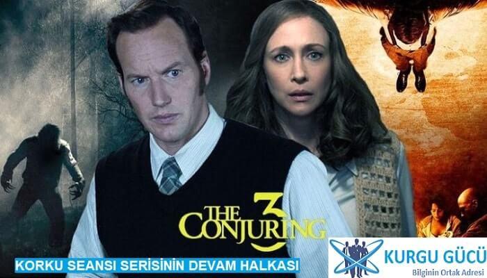 Korku Seansı 3 -  The Conjuring: The Devil Made Me Do It Film İncelemesi - Kurgu Gücü
