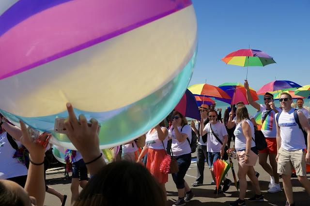 Brighton Pride by Laura Lewis
