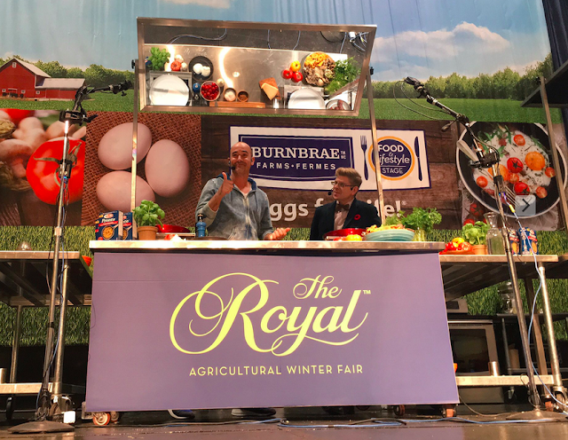 David Rocco at the Royal Fair - Barilla Pronto #OnePanPronto