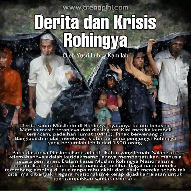 Derita kaum Muslimin di Rohingya nyatanya belum berakhir. Mereka masih teraniaya dan diasingkan. Kini mereka kembali terancam, pada hari Jumat (04/12), Pihak berwenang di Bangladesh mulai merelokasi kloter pertama pengungsi Rohingya yang berjumlah lebih dari 1.500 orang. Ini merupakan bagian dari rencana Bangladesh untuk merelokasi pengungsi Rohingya ke sebuah pulau terpencil, meski mendapat kecaman dari sejumlah kelompok hak asasi manusia. Pejabat angkatan laut mengatakan sebanyak tujuh kapal dikerahkan untuk mengangkut kaum minoritas Muslim Myanmar ini dan dua kapal lainnya untuk mengangkut logistik.
