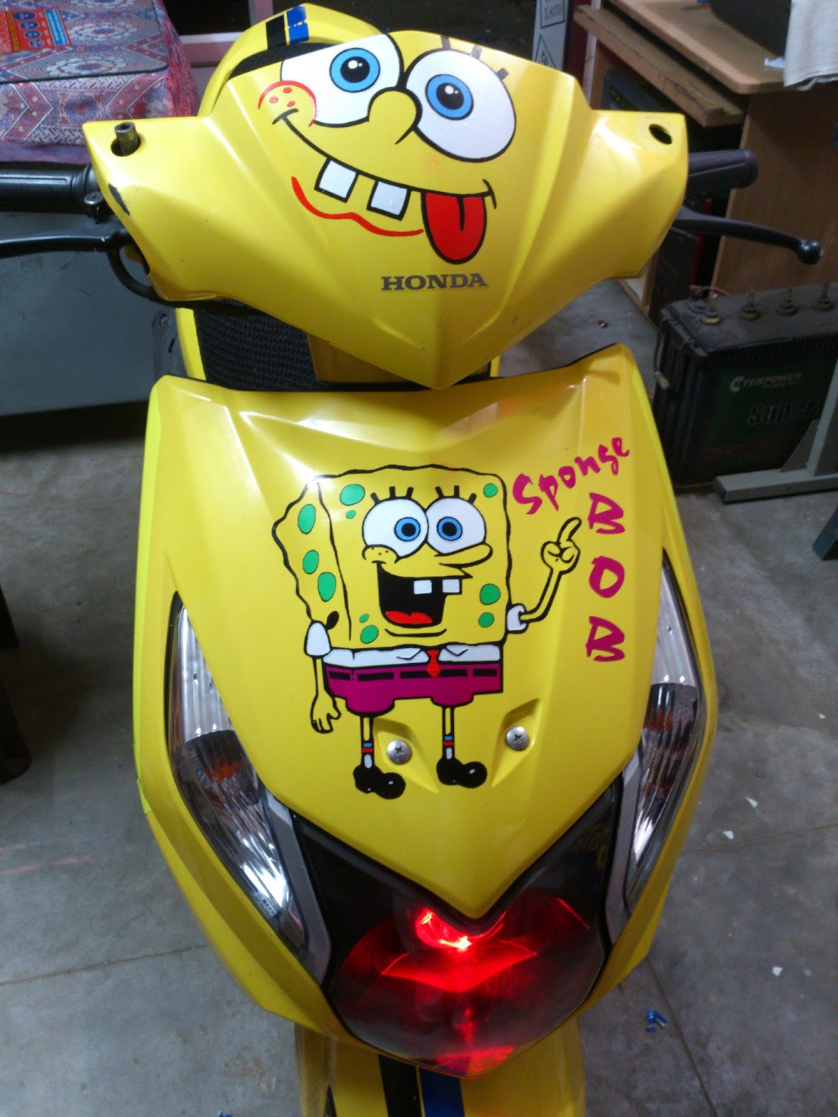 Honda dio stickers designs