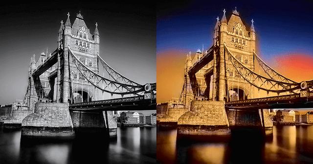 موقع algorithmia لتحويل وتلوين الصور التى باللون الأبيض والأسود الى صور ملونة بضغطة زر