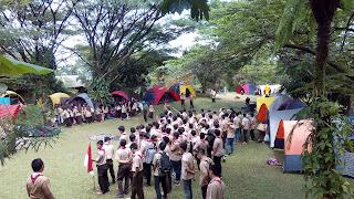 Tempat Camping LDKS di sentul