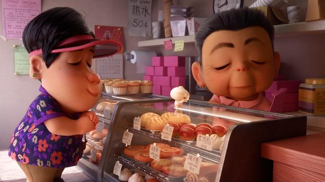 Pixar Bao bakery