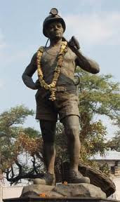 Labourer Statue
