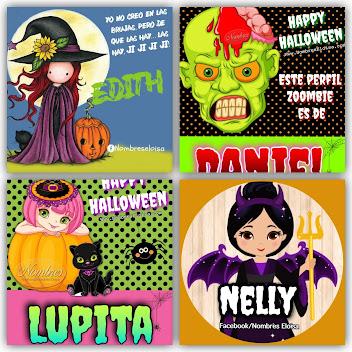 Imágenes Para Halloween con Nombres