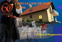 Logo Conad ''Vinci la casa dei tuoi sogni'': 60 cucine Ikea, buono da 200.000€ e pacchetti vacanza