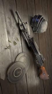 Wallpaper senjata PUBG