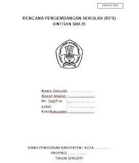 Rencana pengembangan sekolah (RPS) rintisan SMA berbasis internasional