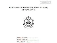 Contoh RPS (Rencana Pengembangan Sekolah) Terbaru