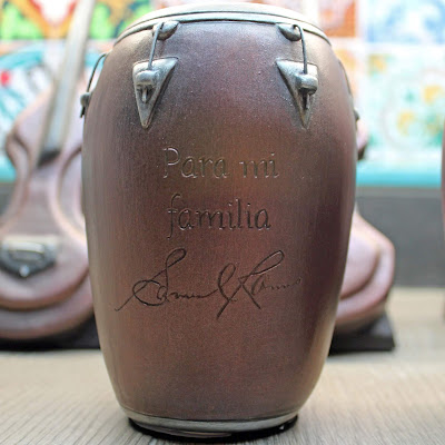 custom conga drum urn