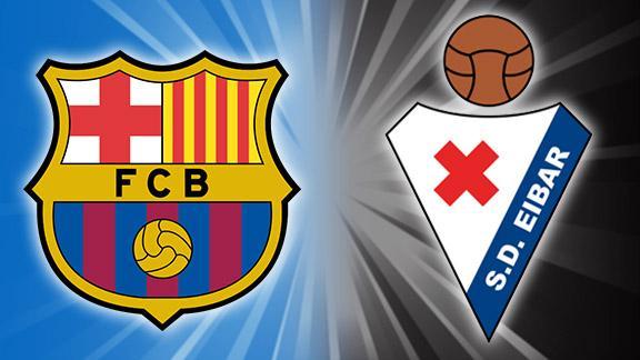 مباراة برشلونة وإيبار في الدوري الإسباني